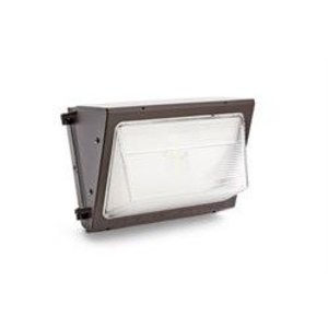 SYLVANIA WALPAK1N/075UNV740/NC/BZ Wall Pack, LED, 8-LED, 75W, 120-277V, Bronze