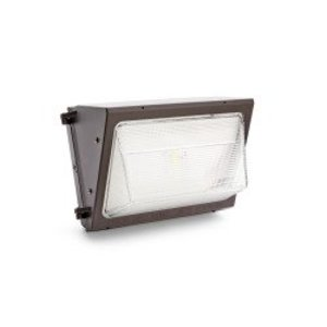 SYLVANIA WALPAK2N/050UNV750/NC/BZ LED Wallpack, 50W, 120-277V, 5000K, Non-Cutoff, Bronze