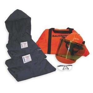 Salisbury SKCA8L Arc Flash Protection Coverall Kit - Size: Large