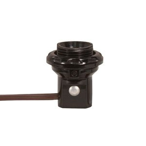 Satco 80-1473 SATCO 801473 THREADED CANDLE SOCKET WITH LEADS