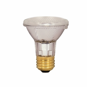Satco S2328 Halogen Lamp, PAR20, 39W, 130V, NFL30