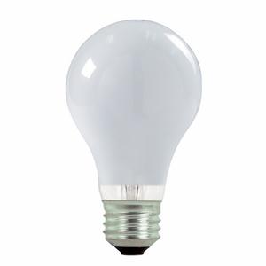 Satco S2408 Halogen Bulb, A19, 72W, 120V, Soft White