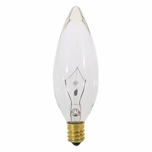 Satco S3391 SAT S 3391 40W EURO BASETORPEDO LAMP