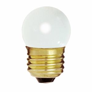 Satco S3607 Indicator Lamp, S11, 7.5W, 120V