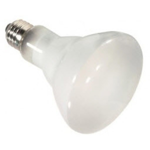 Satco S4514 45 watt; Halogen; R20; Frosted; 2000 Average rated Hours; 560 Lumens; Medium base; 120 volts
