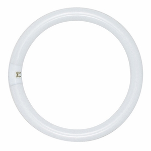 Satco S6502 Fluorescent Lamp, Circular, T9, 22W, 3000K