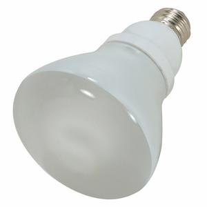 Satco S7249 Compact Fluorescent Lamp, R30, 15W, 5000K