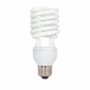 Satco S7414 Compact Fluorescent Lamp, Mini-Twister, 26W, 5000K