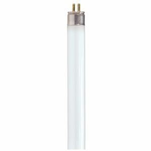 Satco S8141 Fluorescent Lamp, T5, 39W, 3500K, Miniature Bi Pin Base