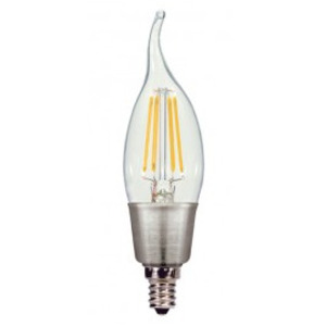 Satco S9574 4.5W Dimmable Candle LED