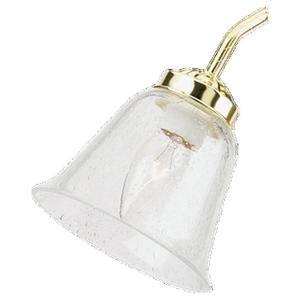 Sea Gull 1685-67 Ceiling Fan Clear Seedy Glass