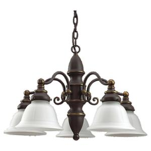 Sea Gull 31051-71 5l Chandelier Antique Bronze