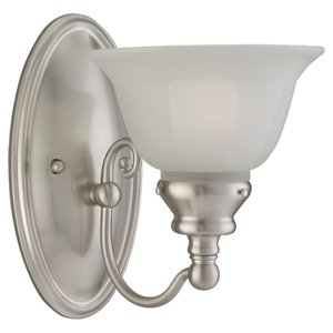 Sea Gull 44650-962 1 Light Wall Sconce Brushed