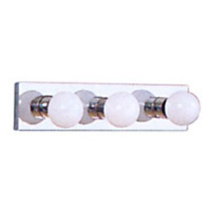Sea Gull 4737-05 Bath Light, 3-Light, 100W, Chrome