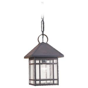 Sea Gull 60010-71 1l Brs Outdoor Pendant Ant.