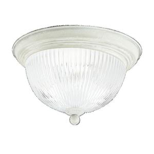 Sea Gull 7525-15 Close To Ceiling Two Light Whi