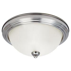 Sea Gull 77063-962 Ceiling Light, 1-Light, 100W, Brushed Nickel