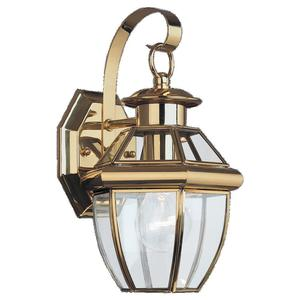 Sea Gull 8037-02 Outdoor Wall Lantern One Light