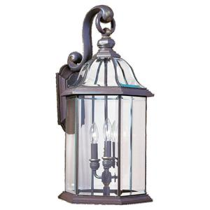 Sea Gull 8052-71 Outdoor Wall Lantern Three Lig