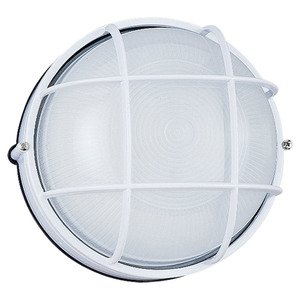 Sea Gull 8324-15 Wall Light, 1 Light, 100W, White