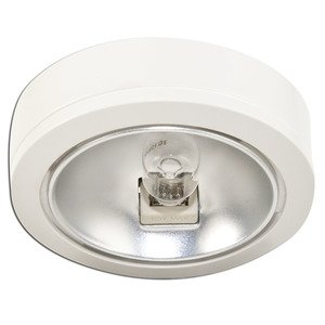 Sea Gull 9485-15 Puck Light, Xenon, 18W, 12V, White