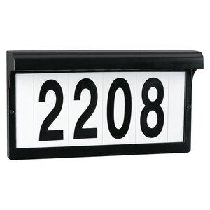 Sea Gull 9600-12 Address Light Fixture, 5W, 12V, Black