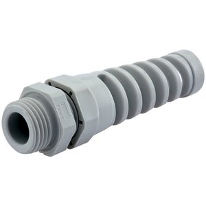 "Sealcon CF07AA-GY Strain-Relief Fitting, PG7, 1-1/4"" NPT, Nylon"