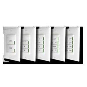 Sensor Switch NPODM-DX-WH Nlight Wallpod, Push-button