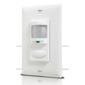 Sensor Switch WSD-WH Occupancy Sensor, Infrared, Wall Mount, 180°, White