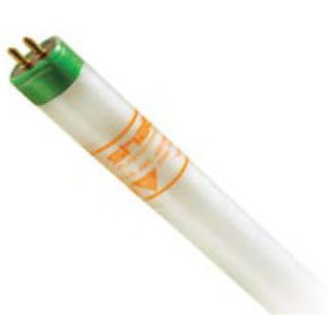 """Shat-R-Shield 82578S Fluorescent Lamp, Coated, T5, 48"""", 54W, 6500K"""
