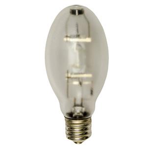 Shat-R-Shield 90804S Metal Halide Lamp, Shatter-Resistant, ED37, 400W