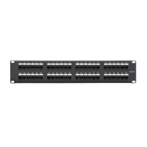 Shaxon MP117HA488 Patch Panel, Cat 6, 48 Port, Universal