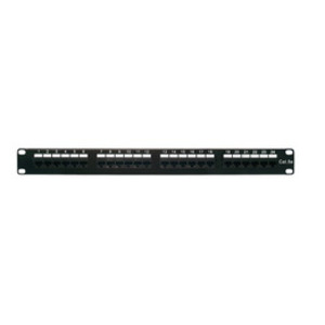 Shaxon MP155HA248 Patch Panel, Cat 5e, 24 Port