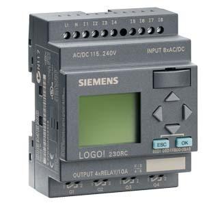 Siemens 6ED10521FB000BA6 LOGO 230RC,