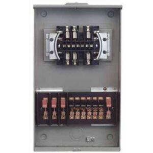 Siemens 9837-0438 Meter Mounts, Tranformer Rated, 13 Terminals, 20A, 3PH, 4 Wire