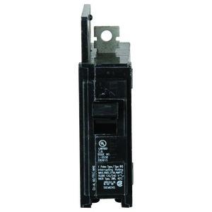 Siemens BQ1B015 Breaker, 15A, 1P, 120V, Type BQ, 10kAIC