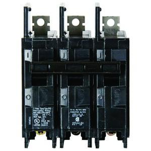 Siemens BQ3B050 Breaker, 50A, 3P, 120/240V, Type BQ, 10 kAIC