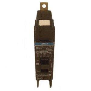 Siemens BQD120 Breaker, Bolt On, 20A, 1P, 277 VAC, 125 VDC, Type BQD, 14 kAIC