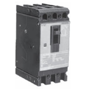 Siemens ED43B125 Breaker, Molded Case, 3P, 125A, 480VAC, Type ED4