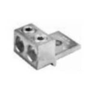 Siemens H56732 Mechanical Lug, 2-Conductor, 1-Hole Mount, Aluminum, 4 AWG - 350 MCM