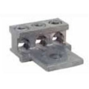 Siemens H68752-1 Connector Lug, 3 Hole, 6AWG - 250MCM, for Meter Bases, Load Centers