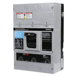 Siemens JXD23B350 Breaker, Molded Case, 350A, 240V, 3P, 65 kAIC