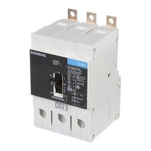 Siemens NGB3B060 Breaker Ngb 3p 60a 600v 14ka No Lugs