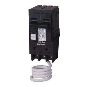 Siemens QF220 Breaker, 20A, 2P, 120/240VAC, 10 kAIC, Type QPF GFCI