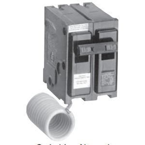 Siemens QG220 Breaker, 20A, 2P, 120VAC, 10 kAIC, Type QG, Switched Neutral