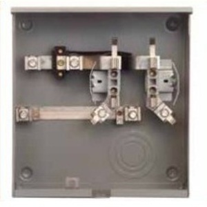 Siemens UAS877-PPDN Meter Base, 200A, 1PH, 4 Jaw, UG Service, Right Hand Bus, Ringless