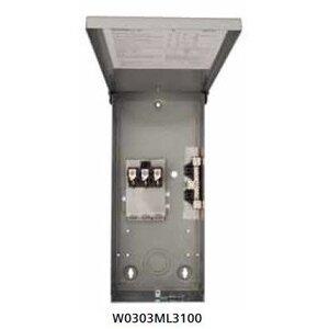 Siemens W0303ML3100 Enclosure, Load Center, 100 Amp