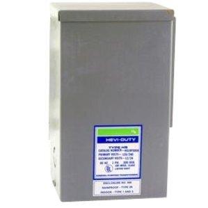 Sola Hevi-Duty HS1F1.5AS Transformer, Automation, 1.5KVA, 240/480VAC Input, 120/240VAC Output