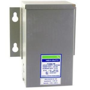 Sola Hevi-Duty HS1F2AS Transformer, Automation, 2KVA, 240/480VAC Input, 120/240VAC Output