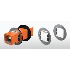 Specified Tech EZDP133CWK Pathway, 33 Series, Fire-Rated Device, Full Kit, Round Wallplates